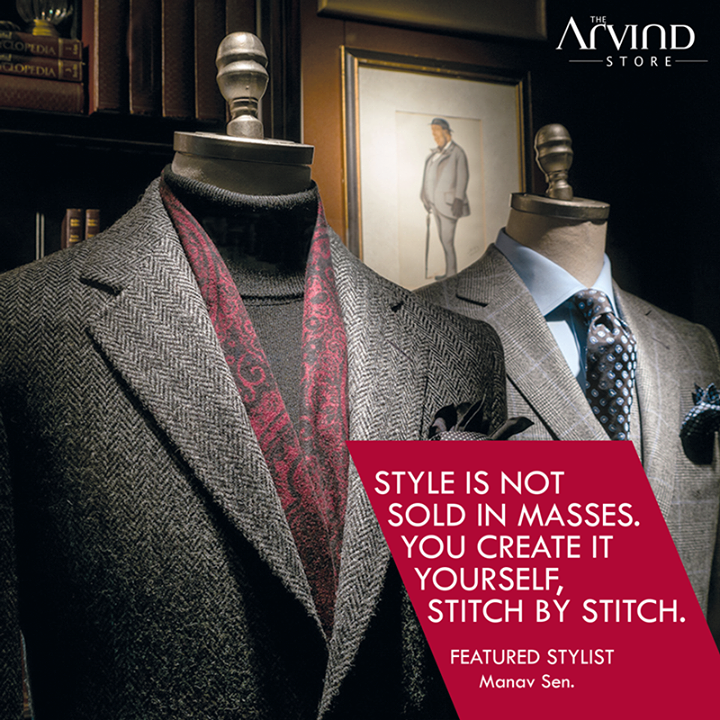 Your #Style, Your way!   #FeaturedStylist #MensFashion #TAS #TheArvindStore