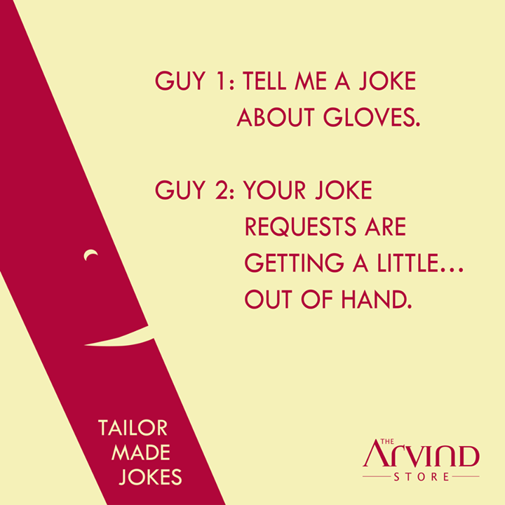 The Arvind Store,  LaughItOut!, TailorMadeJokes, TAS, TheArvindStore