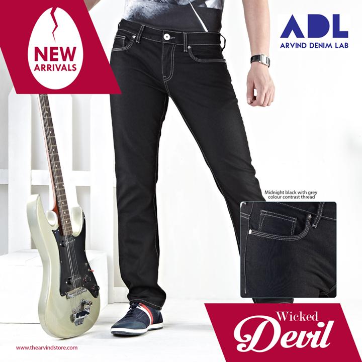 Your denim, your way!  #ADL #Denims #MensFashion #TAS #TheArvindStore