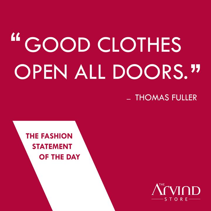 The Arvind Store,  FashionStatement, TAS, MensFashion