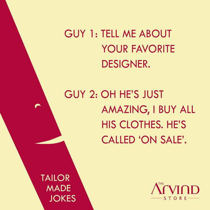 #LaughOutLoud #TheArvindStore #TAS #TailorMadeJokes
