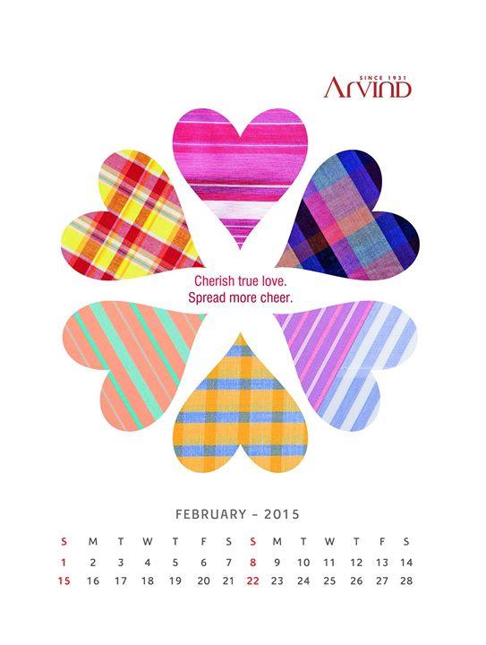 Cherish #Love! Its the month of #Valentines! #HappyFebruary!