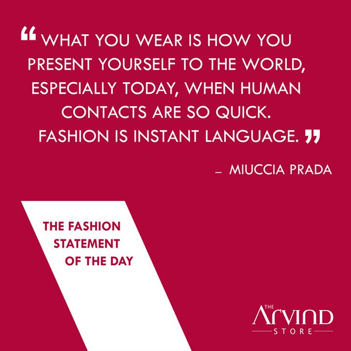 #Fashion is an #Instant language!  #FashionStatement #TAS #MensFashion