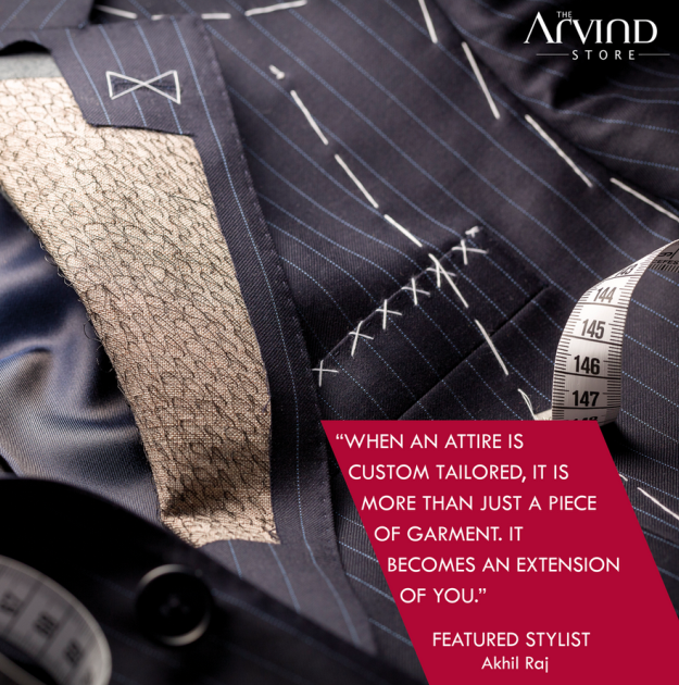 Your attire is an extension of you!  #MensFashion #TAS #TheArvindStore #FeaturedStylist