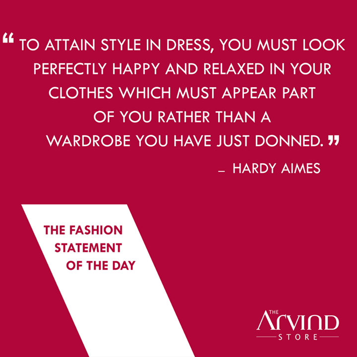 #FashionStatement #MensFashion #TheArvindStore #TAS