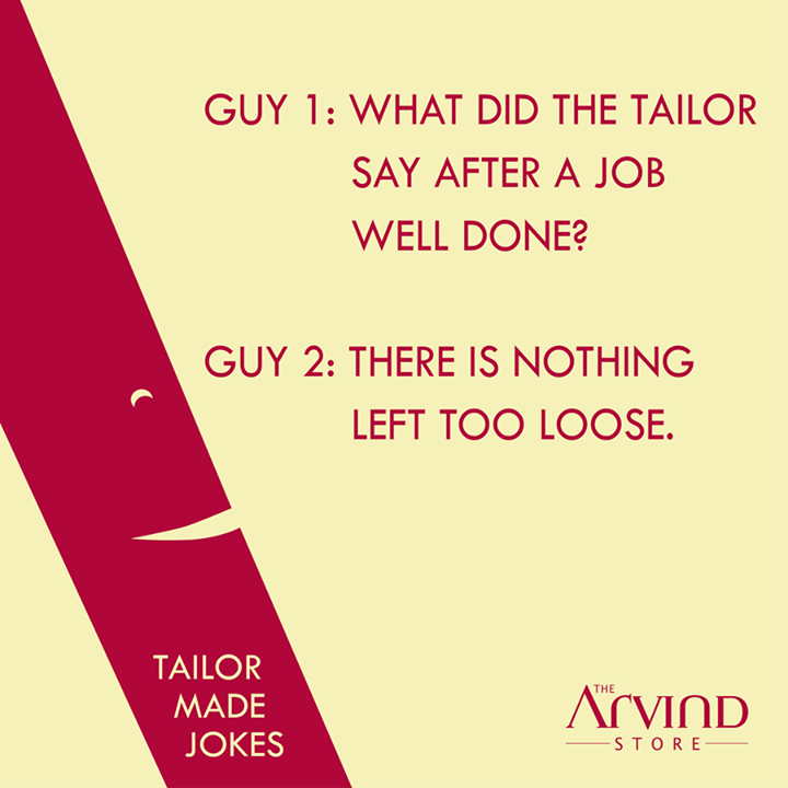 The Arvind Store,  TailorMadeJokes, TheArvindStore, MensFashion, TAS