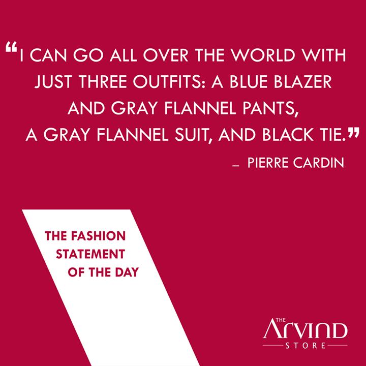 The Arvind Store,  FashionStatement, MensFashion, TheArvindStore, TAS
