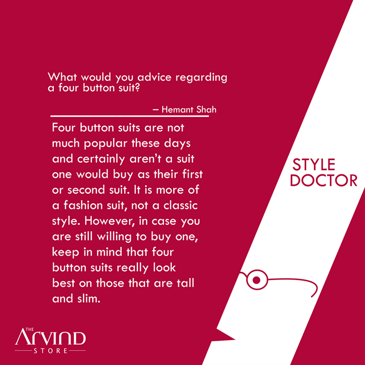 Fix up your #Styledoubts with the #StyleDoctor..  #MensFashion #TAS #TheArvindStore