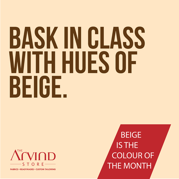 #ColorOftheMonth #MensFashion #TAS #TheArvindStore