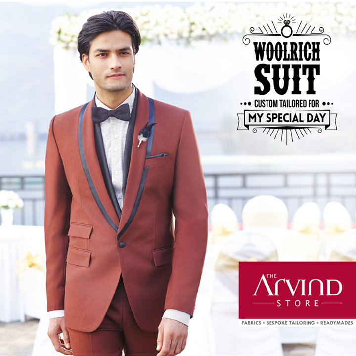 The Arvind Store,  Woolrich, CustomTailored, SpecialDay!, MyFirstSuit, TheArvindStore, MensFashion, Summers