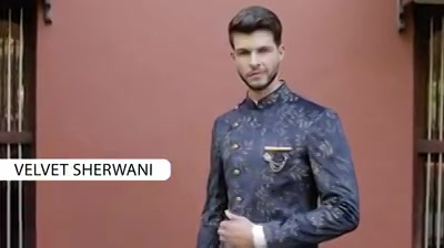 There's more to your style than what just meet the eye. Don the eclectic look with this handcrafted Velvet Sherwani from our latest Ceremonial Collection, and be rest assured that all eyes will be on you. Take a look here: https://bit.ly/2geFHkt