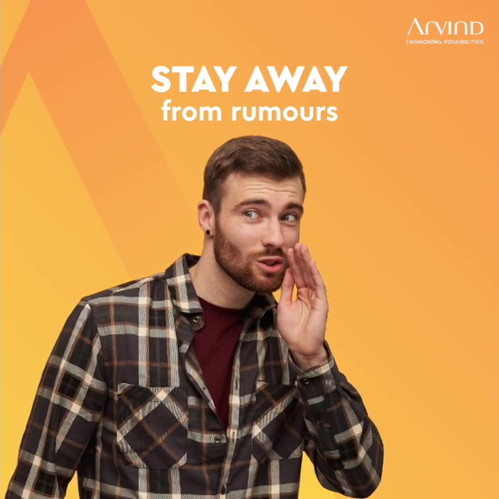 Stay Away. Stay In Touch.  #StaySafe #Arvind