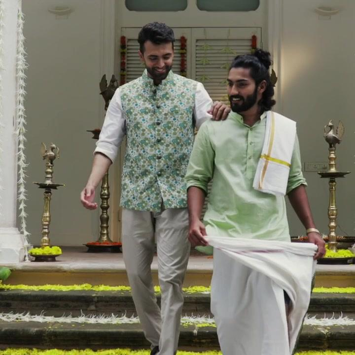 Embark upon the homecoming of King Mahabali adorned in the cultural richness that Onam encapsulates.   So, this festive season dress up your undeniable charm along with the mundu and handsomely crafted kurtas of the freshly minted collection. Introducing the soothing Onam Collection.  Models:  Jwal and Aswin Jayachandran  #malestyle #mensclothes #everydaymadewell #fashioninstagram #mensfashiontips #smartcasual #dressforsuccess #menswearstyle #itsaboutdetail #whowhatwearing #bespoketailoring #classicmenswear #thearvindstore #onam #kerala #kurtas #mundu #indianwear #festivals