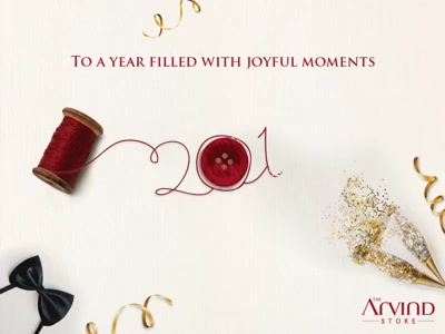 May this New Year be bright and lighten up your life with love and happiness. The Arvind Store wishes you a very #HappyNewYear