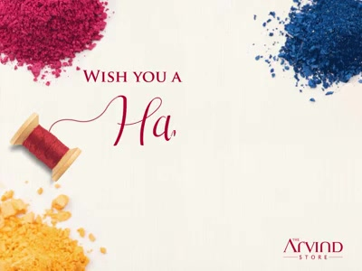 This Holi, spread happiness with colours and make it an extravagant celebration. Wishing everyone a very #HappyHoli
