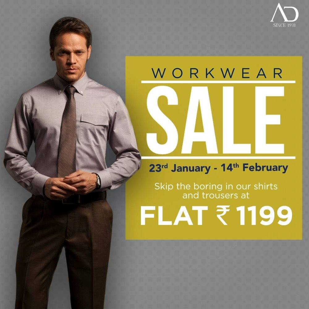 Stand out at work in our shirt and trouser collection at FLAT Rs. 1199. Sale is from 23rd January-14th February.   Shop now at arvind.nnnow.com . . . #ADfashion #ArvindFashion #TheArvindStore #Workwearsale #2021sale #workwear #formals #discounts #Menswear #MensFashion #Fashion #style #comfortable #classicmenswear #texturedfabrics #firstimpressions #dressforsuccess #StayStylish