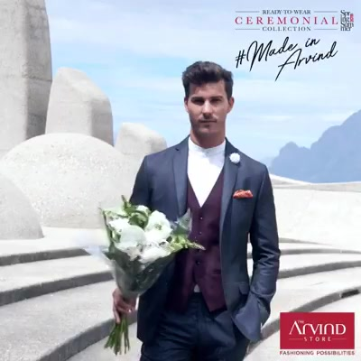 Shop from Arvind's #ReadyToWear Ceremonial Collection with blazers for every occasion. Visit our nearest store today: bit.ly/TASStoreLocator