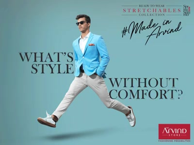 Ace up your look as you make the perfect balance of style and comfort with this ensemble look of a knit stretch blazer, stretch chinos and a tencel shirt. Visit our nearest store: bit.ly/TASStoreLocator
