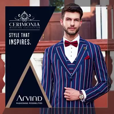 Here's to the ones who don't follow trends, but make them. Here's to the ones who inspire.  #ArvindCerimonia #ArvindFashioningPossibilities #ArvindForWeddings