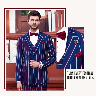 Make this festive season the season for refining your personal style. Step out in our finest and be the reason for the season's celebrations.