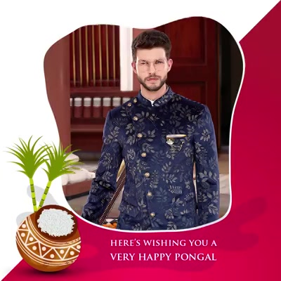 Arvind wishes you and your family a happy, stylish Pongal!