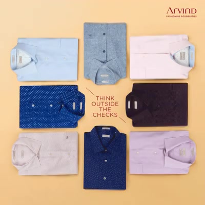 Pick any colour you'd like, they're all guaranteed to protect you from the summer heat! Try Arvind's Collection to be your best this summer!  #ArvindFashioningPossibilities  #ReadyToWear #workwear #workstyle #workfashion