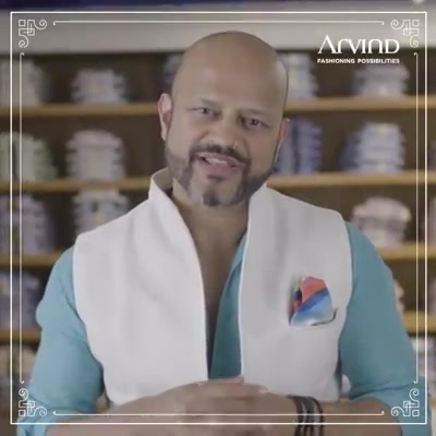 Grooms and groomsmen, it's time for you to be the star of your own wedding. After all why should brides have all the fun? Walk into your nearest Arvind store to try out the Cerimonia Wedding Collection as soon you can! And you'll see what we mean.