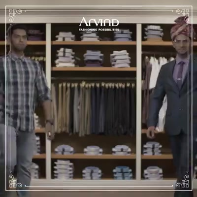 RJ Prithvi and his friends are ready to take on the wedding scene. They're looking all suave in our Cerimonia Wedding Collection, and you can too. Visit your nearest Arvind store and prepare to be wowed!