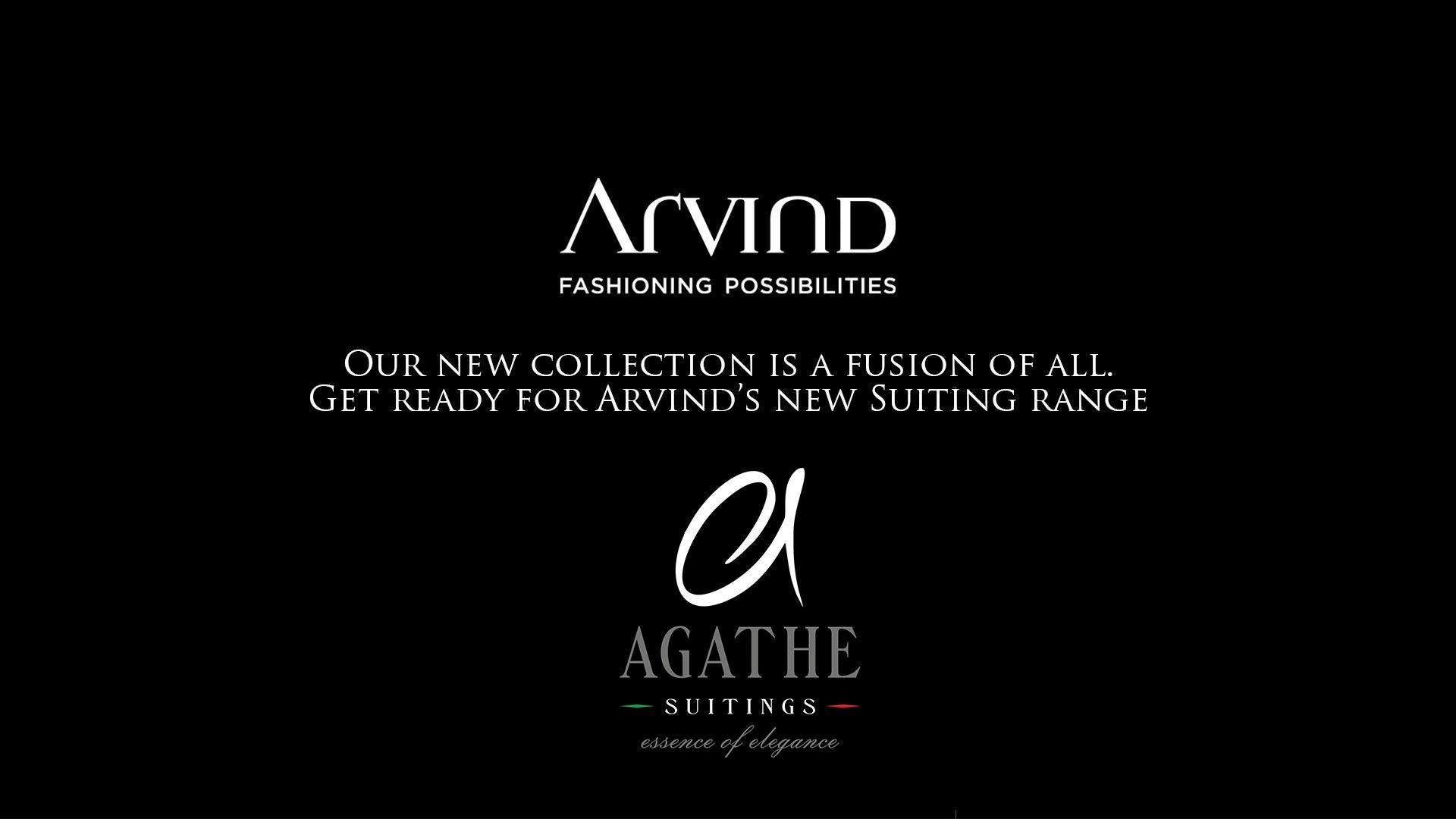 The new Suiting language of Arvind. A collection of subtle and elegant designs, custom-made to suit fast fashion, get ready for Agathe.