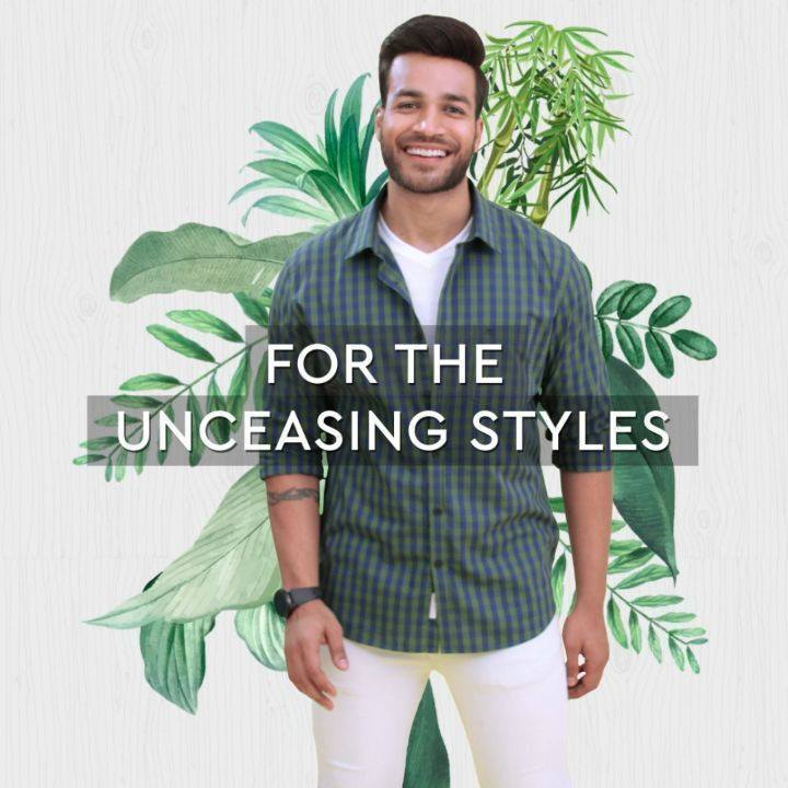 Carry a part of the earth on your shoulders, with style. Introducing a line made of TENCEL™ fibers from the house of Arvind. A collection that offers enhanced breathability and drapability that makes you feel good and look greater. With a deeper, richer color tone in every shirt, the fabrics made of TENCEL™  fiber are bio-degradable and more sustainable in the world of fashion.  Head to arvind.nnnow.com and revamp your wardrobe!  #FeelGoodFashion #Tencel #Arvind #TheArvindStore #ADArvindReaadytoWear #ArvindMensWear #ADSince1931 #MensFashion #SustainableFashion #SustainableLiving #ConsciousClothing #SustainableShirts  #Fashion #Menswear #Sustainability
