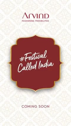 India is a land of festivals and Indians love to celebrate in style! Get ready to explore a range of looks with #FestivalCalledIndia Roll your sleeves to feel festive and brace yourself to look your best while celebrating the occasions & events.  Stay tuned to catch a glimpse of the festive look book and get inspired.  #FestivalCalledIndia #LandOfFestivals #FestiveReady #AnOdeToCelebrations #FestiveLook #FestiveLookBook #ArvindLookBook #EthnicWears #TraditionalOutfits #Menswear #ClassicCollection #Arvind #FashioningPossibilities #StayTuned