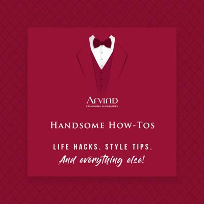 Check out these few tips and hacks to know how to look like the most eligible bachelor at weddings. Wear those ethnic colours with confidence. #ArvindFashioningPossibilities