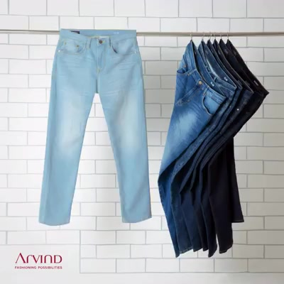 All day denims to fit your work and party style!   #ArvindFashioningPossibilities #denim #jeans