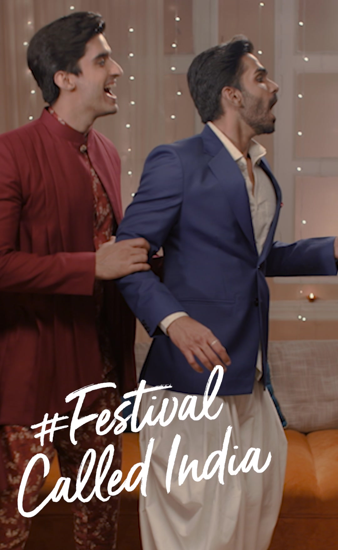 Turn the sweet moments into memories forever. Look your best in the #FestivalCalledIndia.   Fine suiting and shirting fabrics are available at The Arvind Store!  #Arvind #FashioningPossibilities  #LandOfFestivals #FestiveReady #AnOdeToCelebrations #FestiveLook #FestiveLookBook #ArvindLookBook #EthnicWears #TraditionalOutfits #Menswear #ClassicCollection