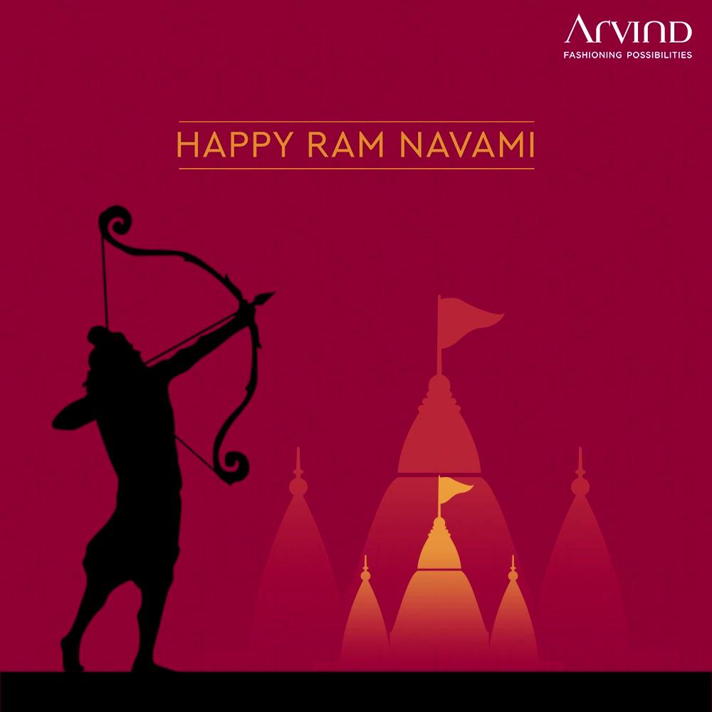 Happy Ram Navami. May Lord Ram destroy all evil and bless the world with health, wealth & happiness.   #RamNavami #JaiShriRam