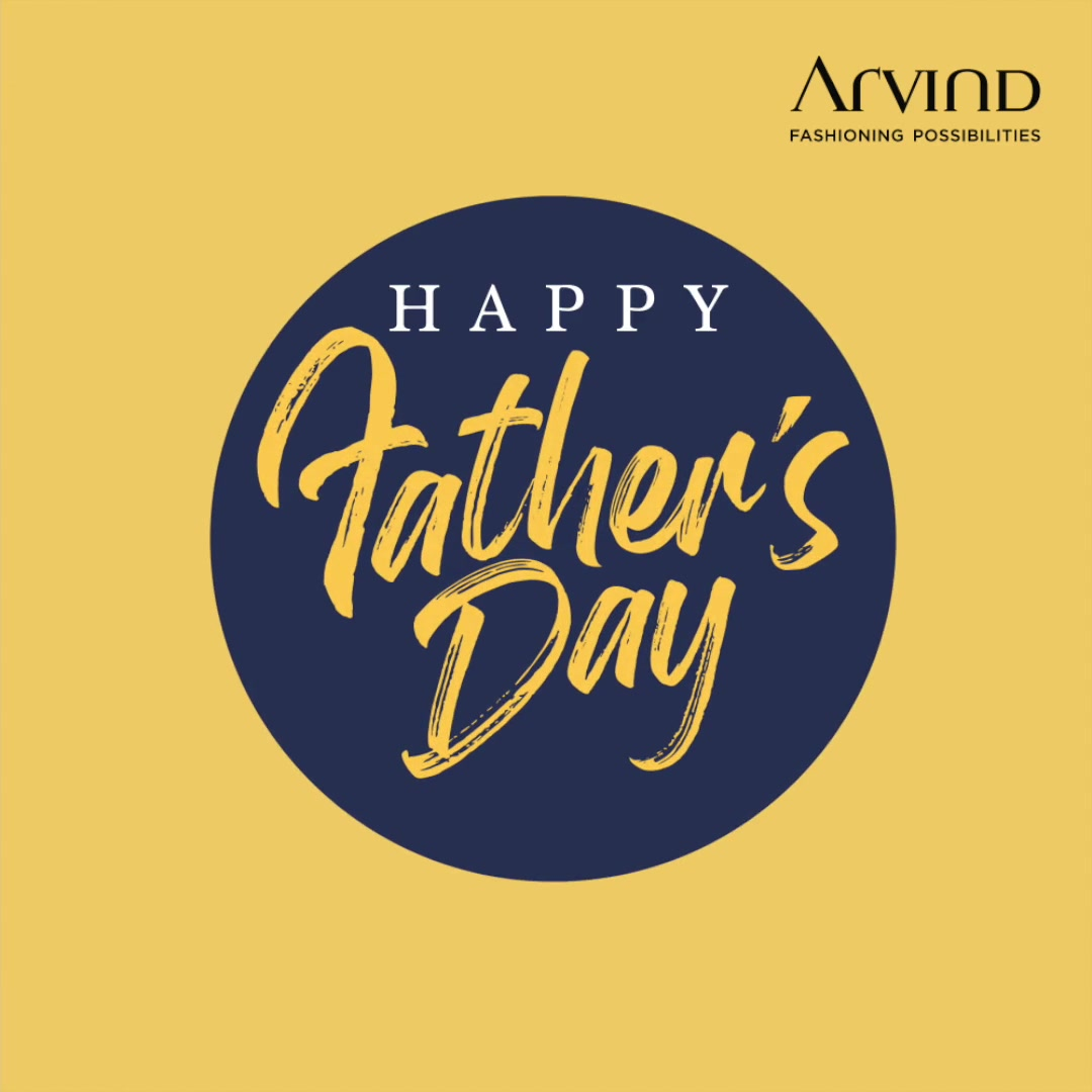 Happy Father's Day.  Celebrate in style with up to 50% off* on arvind.nnnow.com   #HappyFathersDay #Father #Dapper #Dad  #Love  #Respect  #Arvind  #Menswear #ADbyArvind