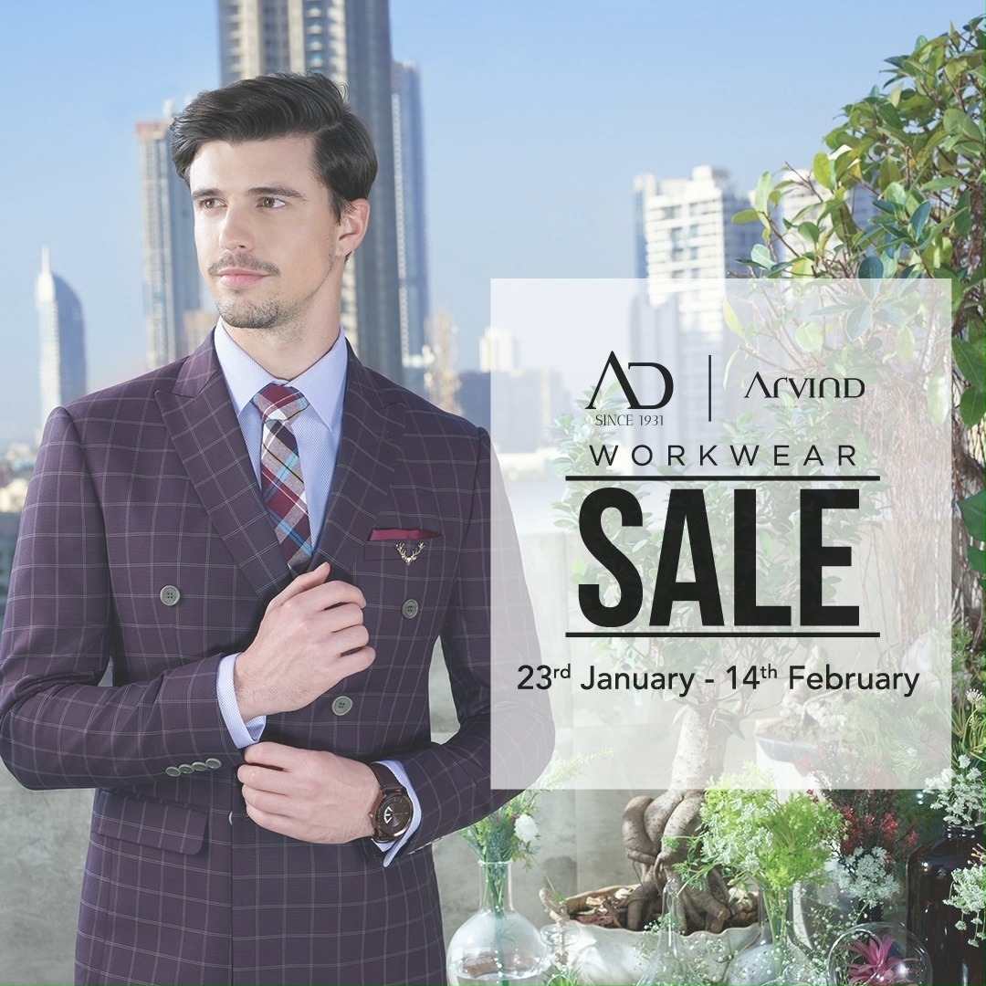 Turn up your style in suits, blazers and bandis at FLAT 50% OFF. Offer is only valid till 14th February.   Shop now at arvind.nnnow.com . . . #ADfashion #ArvindFashion #TheArvindStore #Workwearsale #2021sale #workwear #formals #discounts #Menswear #MensFashion #Fashion #style #comfortable #classicmenswear #texturedfabrics #firstimpressions #dressforsuccess #StayStylish